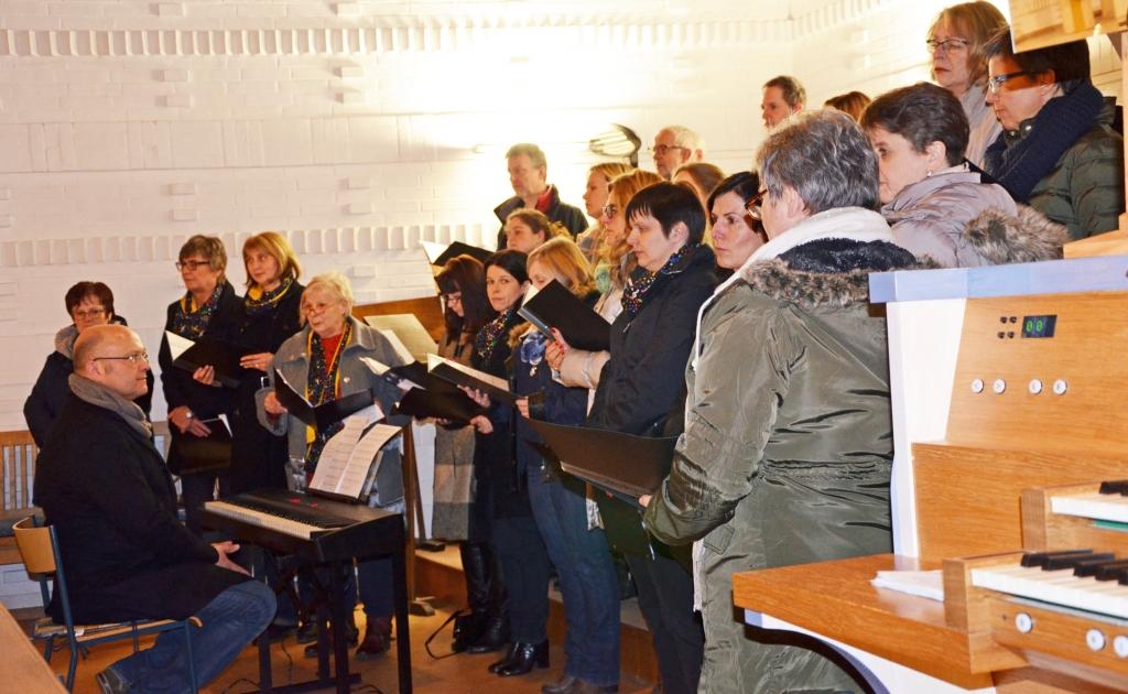 Paarsegnungsgottesdienst (Foto F. Fürk)