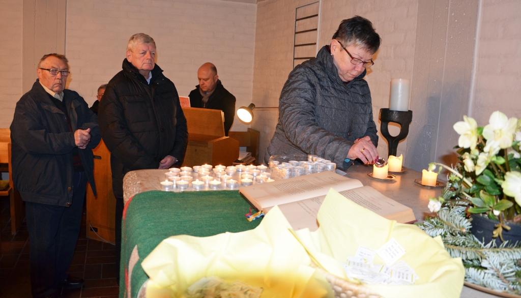 Ökumenische Andacht zur Einheit der Christen (Foto F. Fürk)