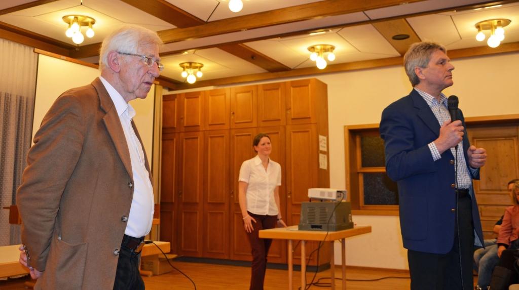 Lesung mit Franz Alt in Kirchenthumbach