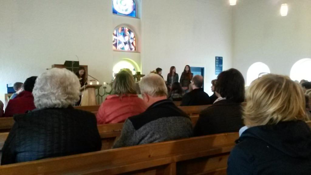 Erntedankgottesdienst: mitgestaltet von unseren Konfis