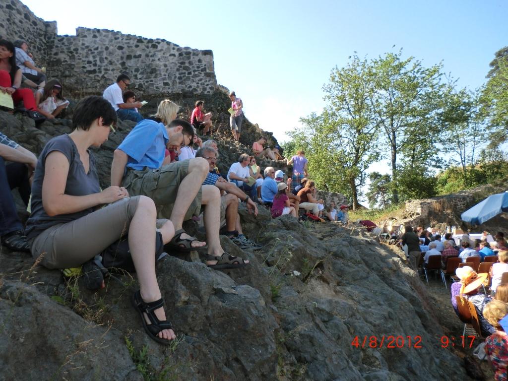 Berggottesdienst der Kulmregion im Juli