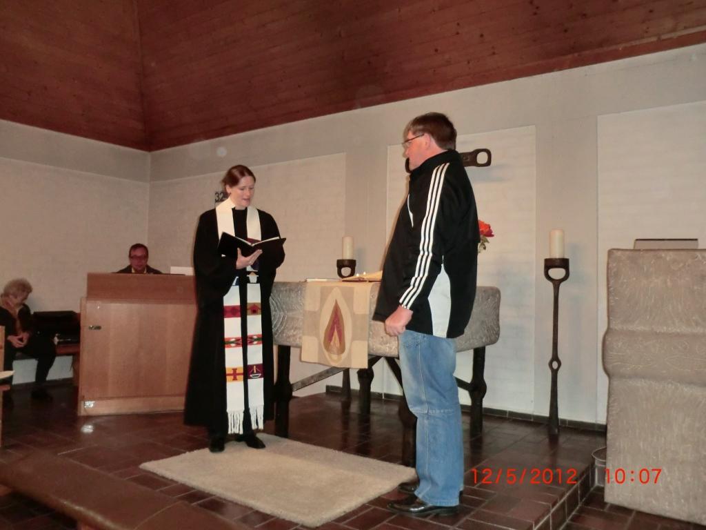 Einführung von Herrn Dippold - unser neuer Hausmeister in Kirchenthumbach
