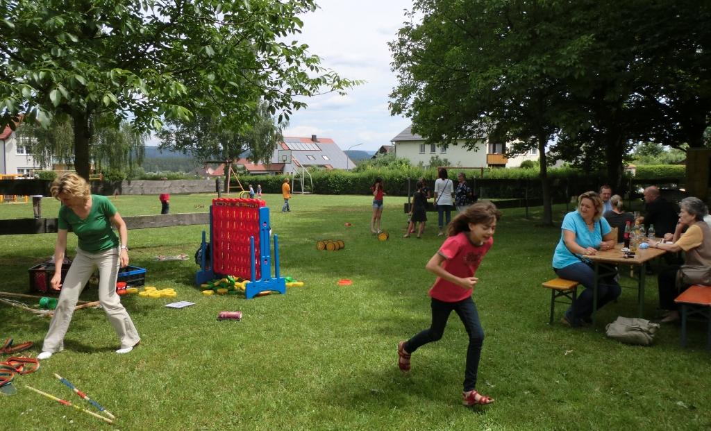Spiel und Spaß beim Gemeindefest