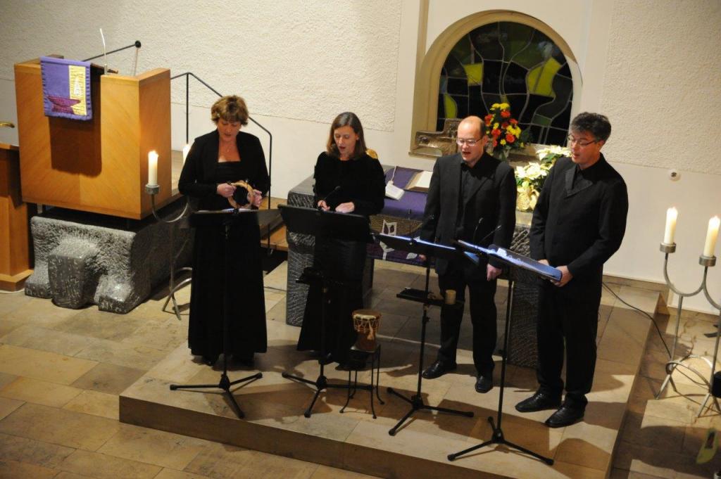 Konzert von I Bonifaci am 16. Dezember bei uns in der Kreuzkirche