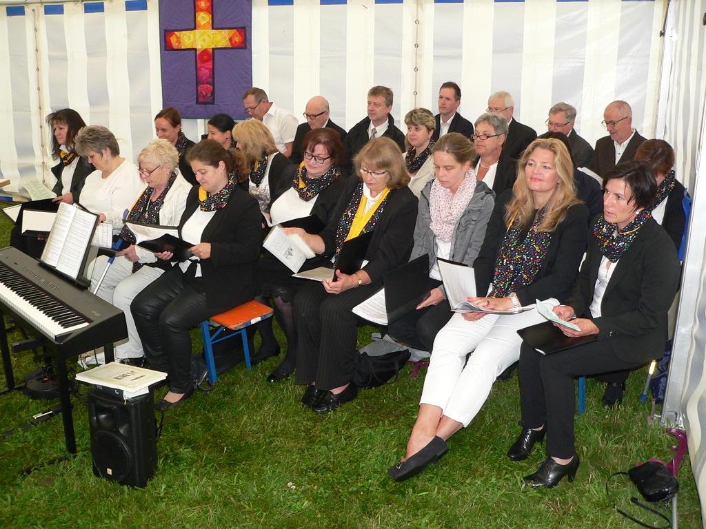Gemeindefest in Kirchenthumbach 50 Jahre Johanneskirche
