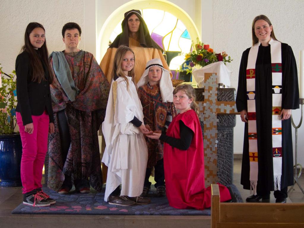 Familiengottesdienst Ostersonntag