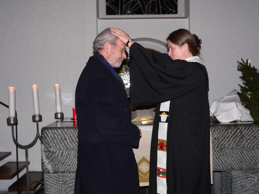 Verabschiedung von Herrn Steinbeck als Lektor am 31.12.2014 (Foto Hr. Herrmann)