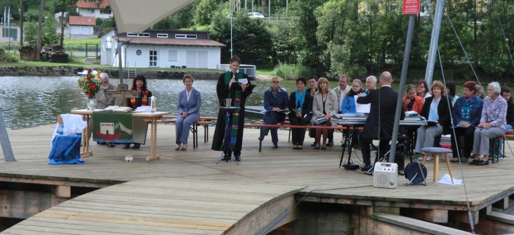 Tauferinnerungsgottesdienst im Juli 2012