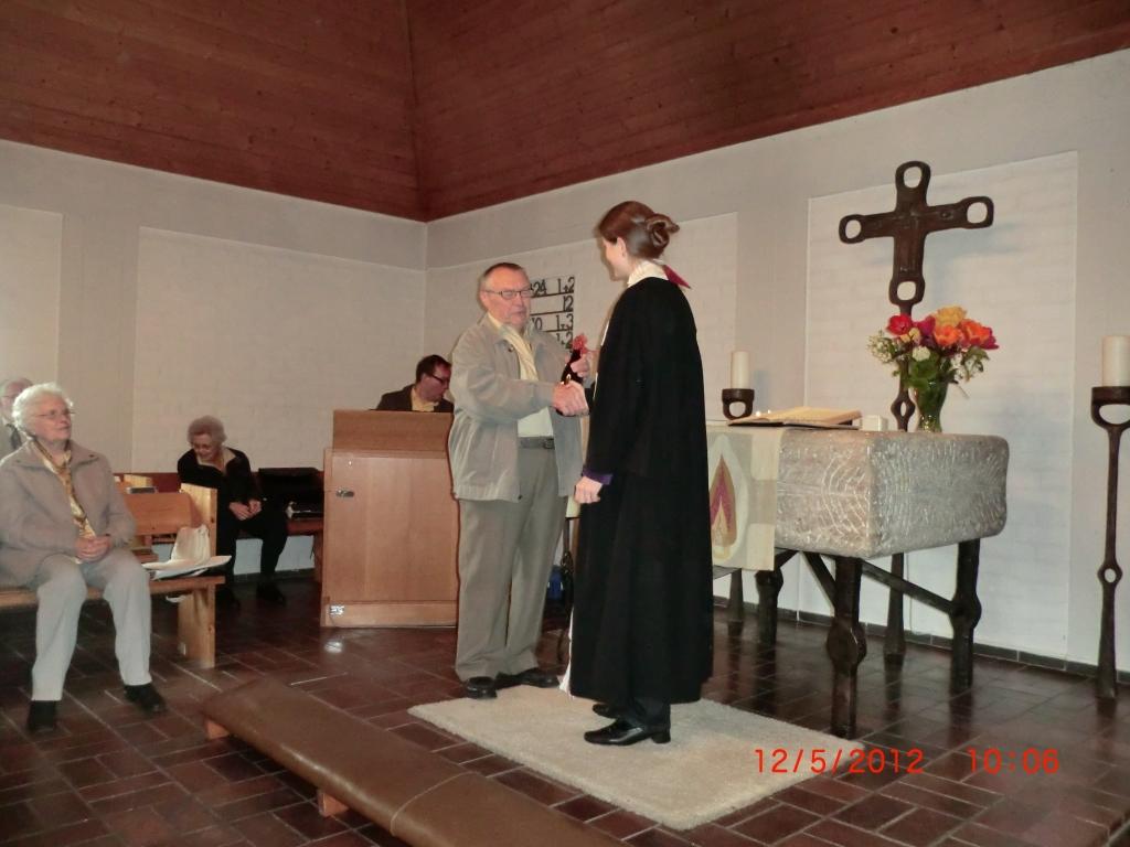 Verabschiedung von unserem Hausmeister Herrn Müller in Kirchenthumbach